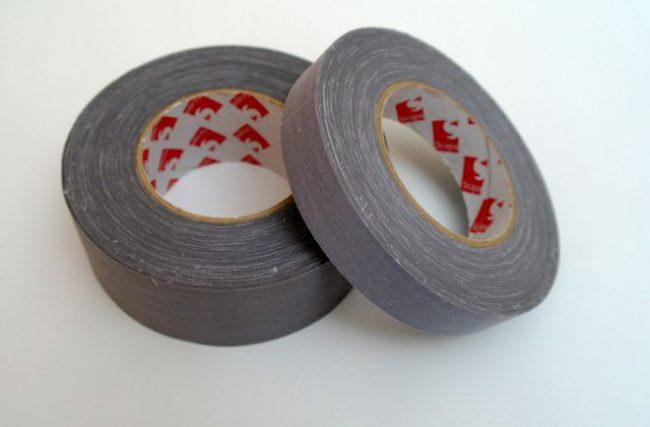 Textilná páska šedá 3302  25mm x 50m