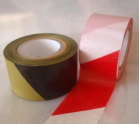 Výstražná fólia 75mm x 100m žlto/čierna