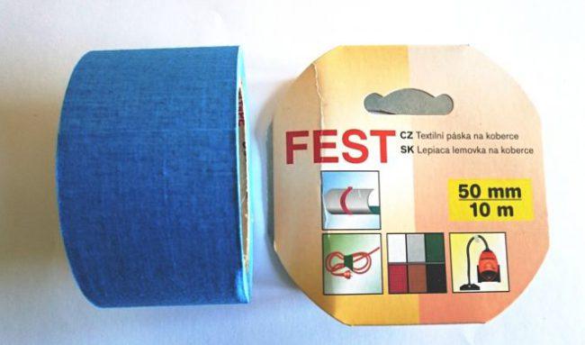 Lemovka 50x10 FEST modrá