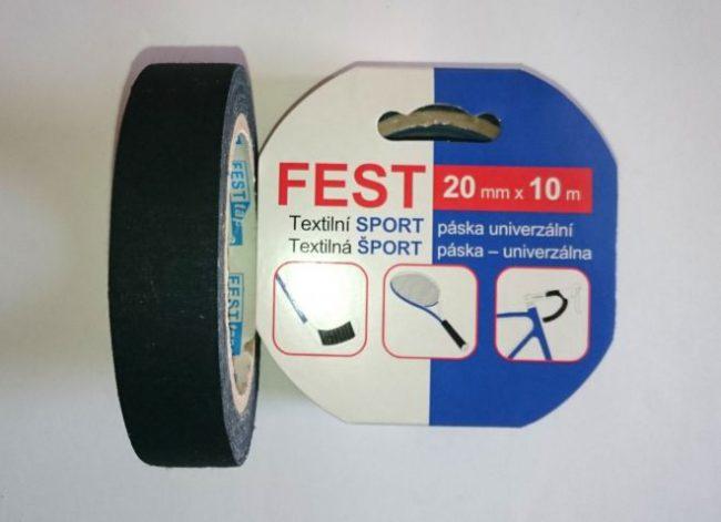 Sport páska 20x10 čierna