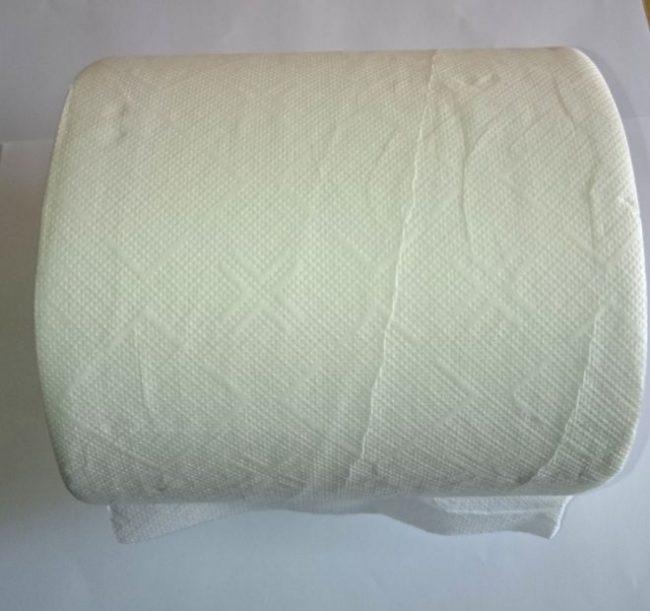 Papierové utierky biele 110m